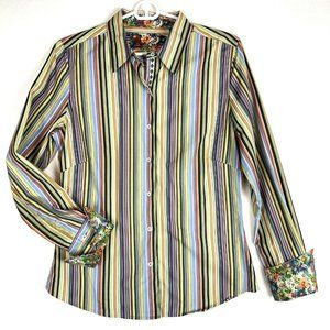 Robert Graham Contrast Cuff Shirt